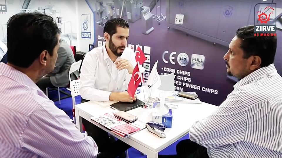 من فعاليات مشاركتنا لليوم الثالث في معرض (غولفود مانيفاكتشرينج) العالمي 2018 المقام في دبي